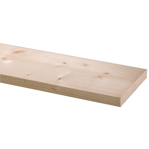 Geschaafd steigerhout plank vuren 27x190mm 250cm