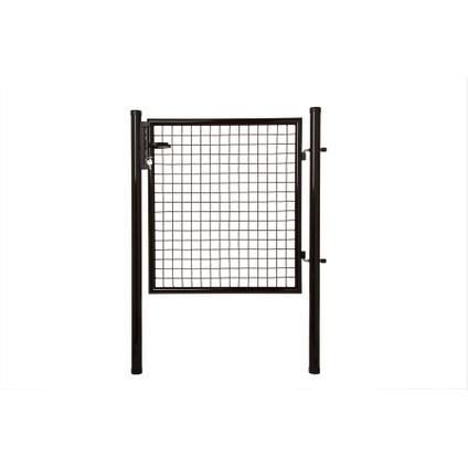 Giardino poort H150 L100cm zwart