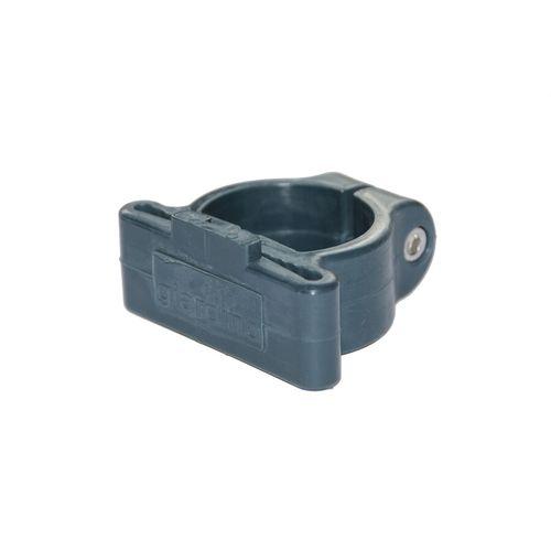 Collier de coin pour poteau profilé Giardino gris 48mm 6pcs