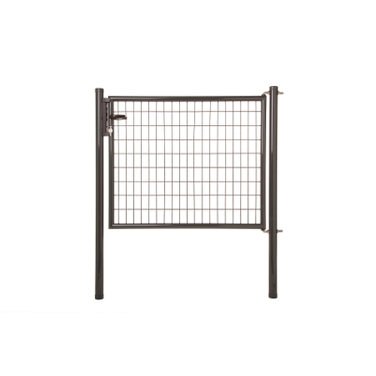 Napoli poort H100 L125cm grijs