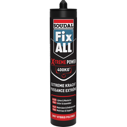 Soudal lijm voegkit 'Fix All Extreme Power' 290ml