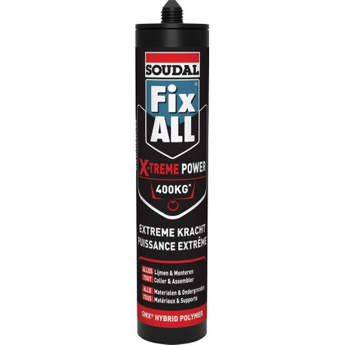 Colle mastic Soudal 'Fix All Extreme Power' 290ml