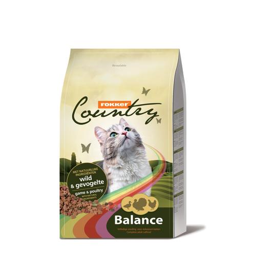Fokker Country balance kat wild & gevogelte 10 kg