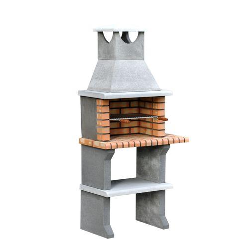 Tuozi stenen barbecue Luna 92x47x190cm