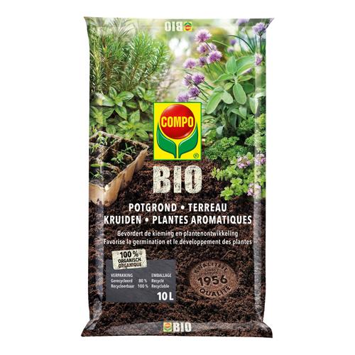 COMPO Bio Potgrond kruiden 10L