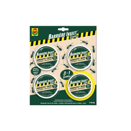 Boîte appât anti-fourmis Compo Mirazyl Box 4 pcs