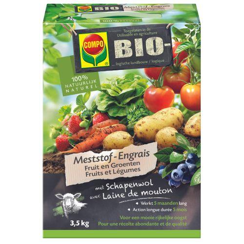 Engrais bio fruits et légumes Compo 3,5kg