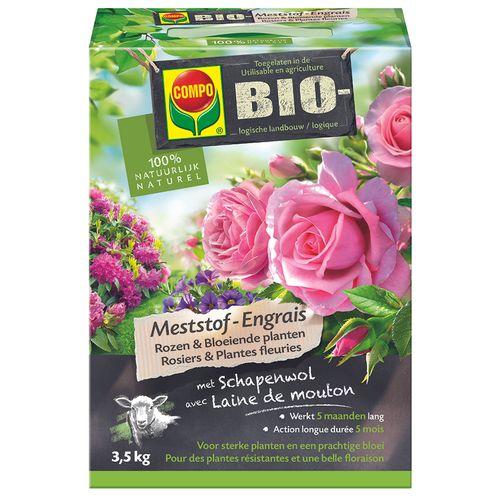 Engrais bio rosiers et plantes fleuries Compo 3,5kg