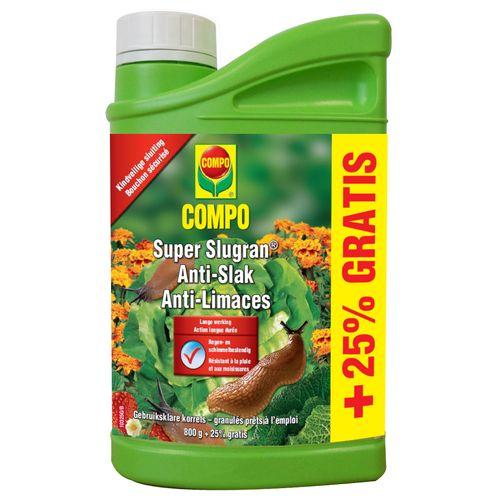 Anti-limaces Compo Super Slugran 800g + 25%