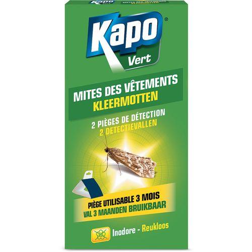 Pièges de détection mites vêtement Kapo 2pcs