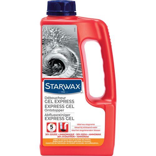 Déboucheur canalisations cuisine et salle de bains Starwax 'Express' 1 L