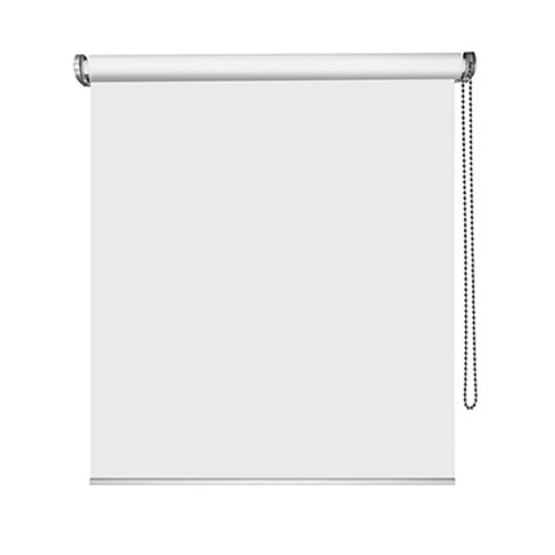 Store enrouleur Madeco 'Must' tamisant motorisable blanc 60 x 250 cm