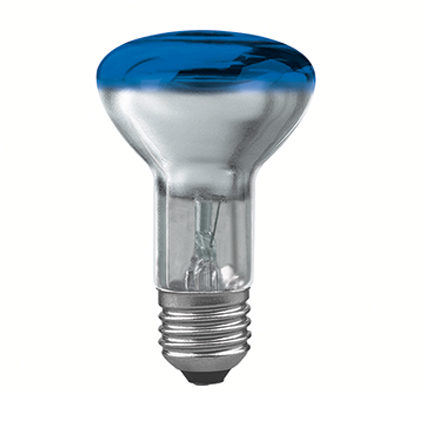 Ampoule réflecteur Paulmann 'PR63' 40W E27 bleu