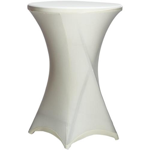Cross tafelhoes voor tafel hoog beige diam. 85 cm