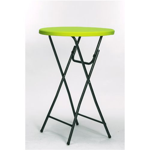 Nappage Cross pour table haute lime diam. 85 cm