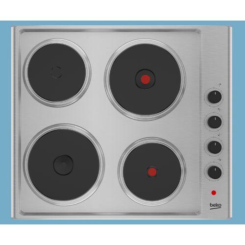 Taque électrique Beko 'Hize 64101X' 60 cm
