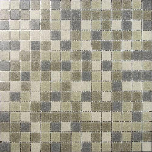 Feuille de mosaïque 33 x 33 cm mix brun 1 pcs