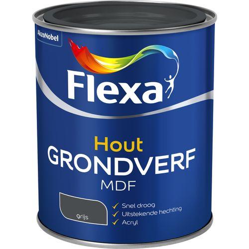 Flexa mdf grondverf grijs 750ml