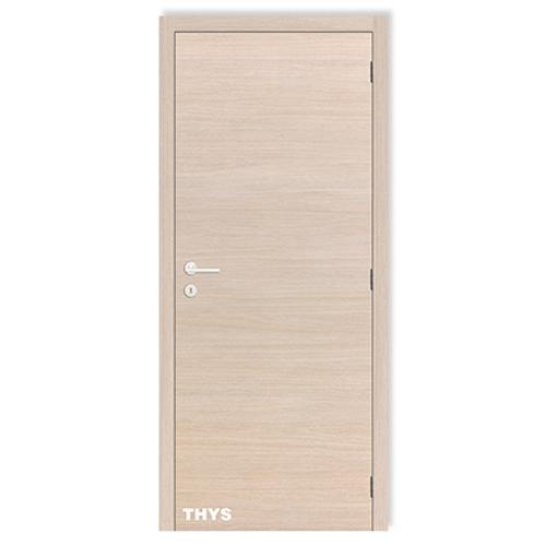 Bloc-porte Thys 'Concept S64 Champagne' chêne horizontal tubulaire 78 cm