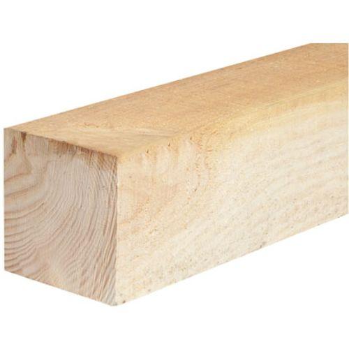 Elephant tuinpaal hout 180 x 6,8 x 6,8 cm