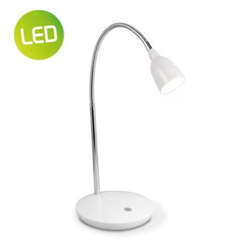 Lampe de bureau Home Sweet Home 'Flexy' blanc 2,5W