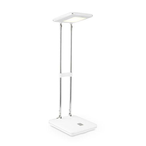 Lampe de bureau Home Sweet Home 'Check' blanc 2,5W