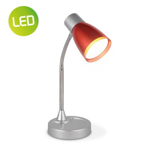 Home Sweet Home bureaulamp 'Lumy' rood 3W
