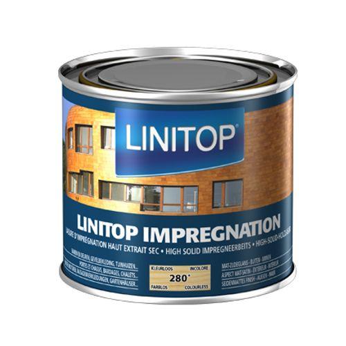 Linitop houtbeits 'Impregnation' kleurloos 280 500ml