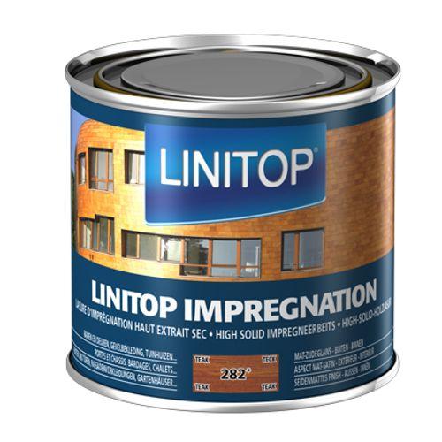 Linitop houtbeits 'Impregnation' teak 282 500ml
