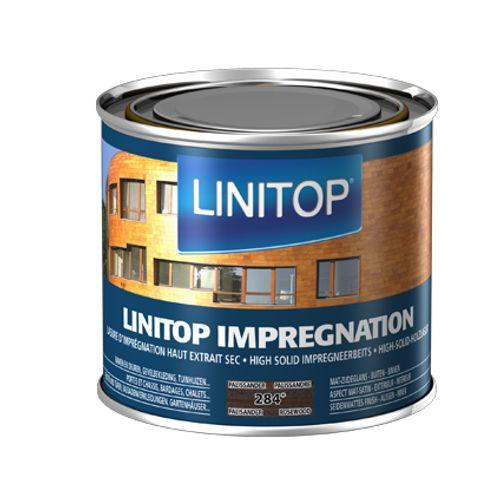 Linitop houtbeits 'Impregnation' palissander 284 500ml