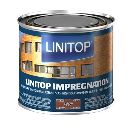 Linitop houtbeits 'Impregnation' mahonie 285 500ml