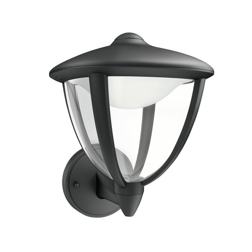 Philips wandverlichting LED Robin zwart 14W