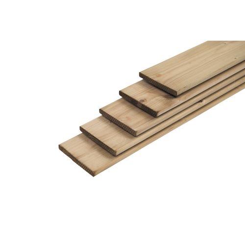 Planche en bois brun 180x14x1,6cm
