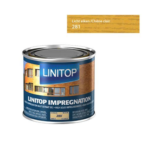 Linitop houtbeits 'Impregnation' lichte eik 281 2,5L
