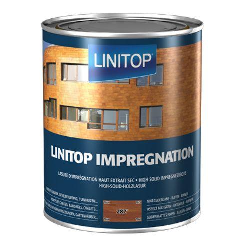 Linitop houtbeits 'Impregnation' teak 282 2,5L