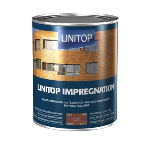 Linitop houtbeits 'Impregnation' mahonie 285 2,5L