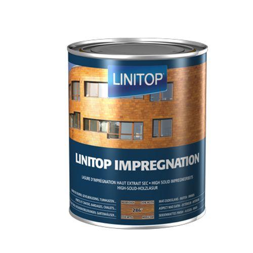 Linitop houtbeits 'Impregnation' midden eik 286 2,5L