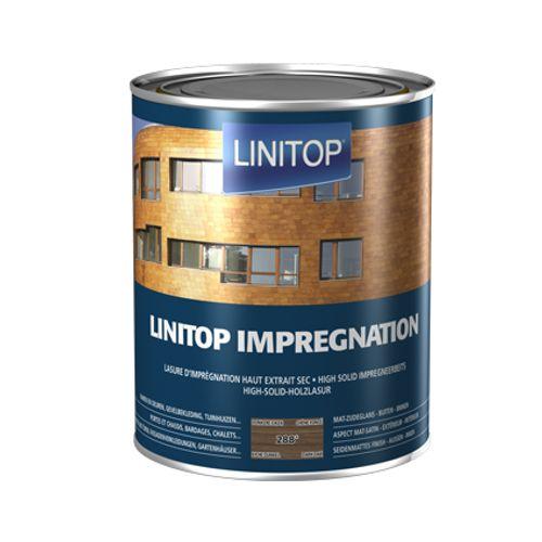 Linitop houtbeits 'Impregnation' donkere eik 288 2,5L