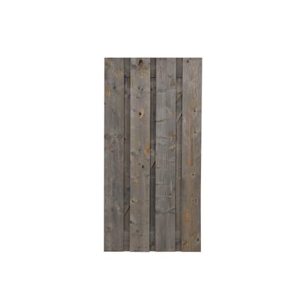 Tuindeur 'Vintage Grey' hout 90 x 180 cm