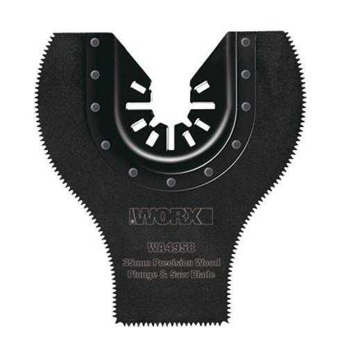 35mm Inval zaagblad metaal, precisie geslepen, voor hout, kunstoffen en non-ferrometalen