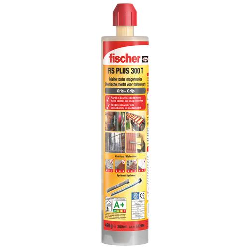 Fischer injectiemortel 'FIS PLUS 300 T' 300 ml