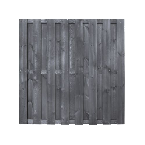 Ecran de jardin Excellent droit pin brun 180x180cm