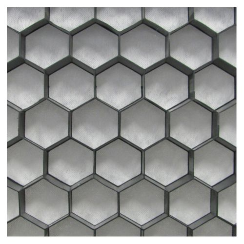 Dalle nidagravel Coeck '129' noir 120 x 80 x 2,5 cm