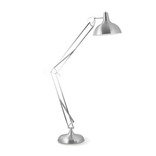 Home Sweet Home staanlamp 'Job' mat staal 60 W