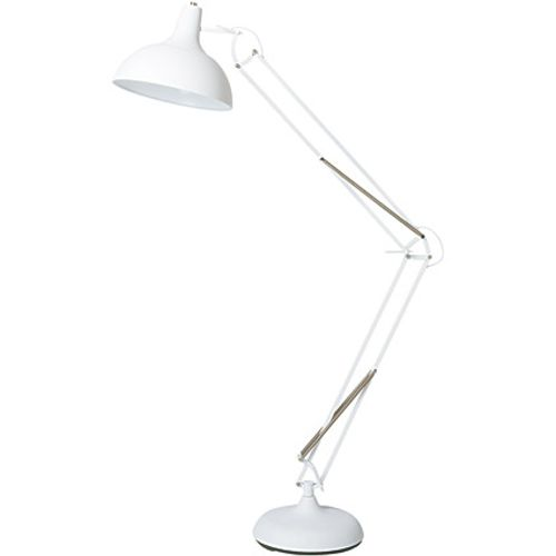 Lampadaire Home Sweet Home 'Job' blanc 60W