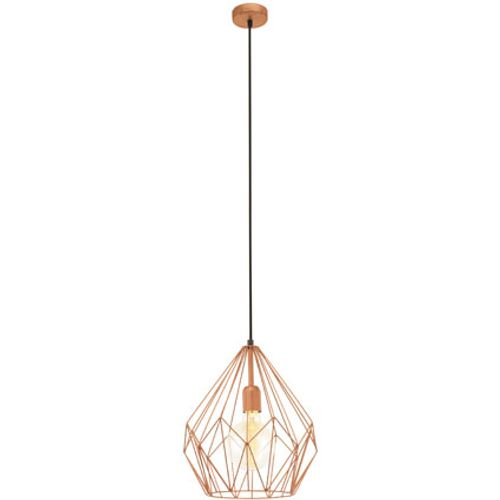 Suspension Eglo 'Vintage' cuivre 60W