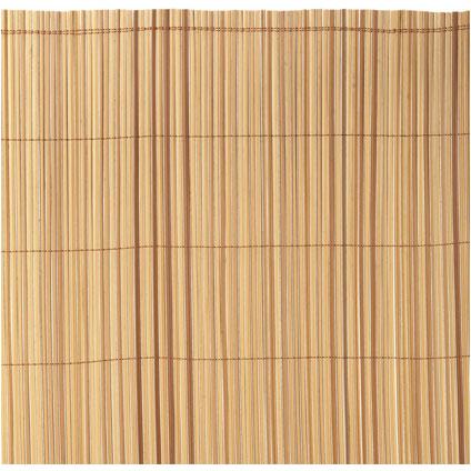 Brise-vue Nortene 'Exel Split' brun 1 x 3 m