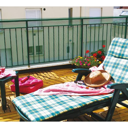 Grillage balcon Nortene 'Balconet' vert 1 x 5 m