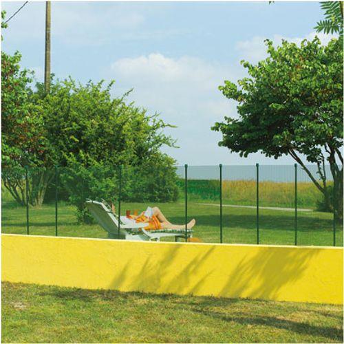 Grillage balcon Nortene 'Cuadranet 23' blanc 1 x 3 m