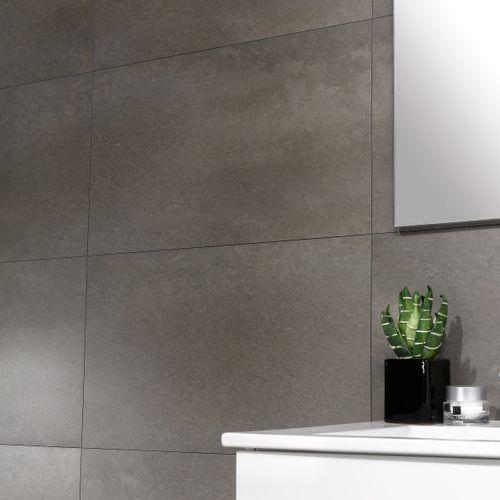 Dumaplast wandpaneel 'Dumawall+' taupe 37,5 x 65 cm
